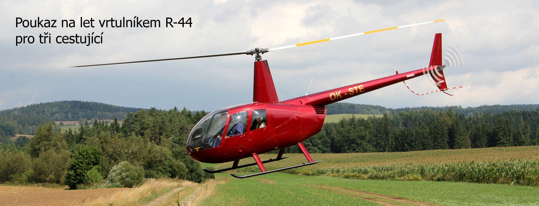 poukaz let vrtulnikem